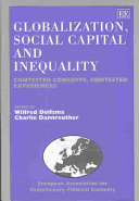 Globalization  Social Capital and Inequality