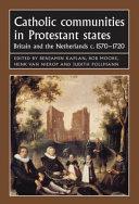 Catholic Communities In Protestant States