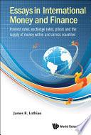 Essays in International Money and Finance Book