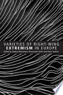 Varieties Of Right Wing Extremism In Europe