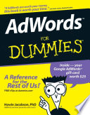 """AdWords For Dummies"" by Howie Jacobson"