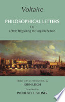 Philosophical Letters: Or, Letters Regarding the English Nation