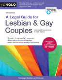 A Legal Guide for Lesbian & Gay Couples