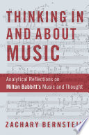 Thinking In and About Music