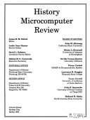 History Microcomputer Review