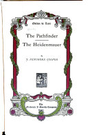 Works: The pathfinder, The Heidenmauer