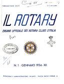 Il Rotary organo ufficiale dei Rotary clubs d'Italia