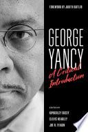 George Yancy Book