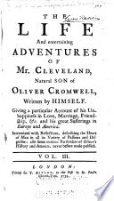 The Life And Entertaining Adventures Of Mr Cleveland Natural Son Of Oliver Cromwell Book PDF