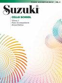 Suzuki Cello School  Vol 5  Piano Acc