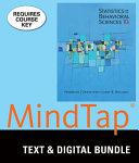Statistics for the Behavioral Sciences   Mindtap Psychology   Psychotherapy
