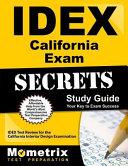 IDEX California Exam Secrets Study Guide