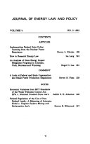 The Journal of Energy Law   Policy