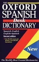El Oxford Diccionario Espanol del Escritorio   The Oxford Sp