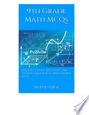 9th Grade Math Mcqs Book PDF