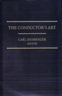 The Conductor s Art Book