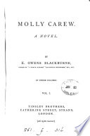 Molly Carew  by E  Owens Blackburne