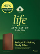 NLT Life Application Study Bible, Third Edition (Leatherlike, Brown/Tan)