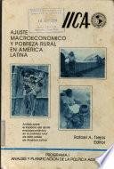 Ajuste macroeconómico y pobreza rural en América Latina