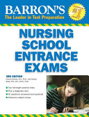 Barron s Nursing School Entrance Exams Book