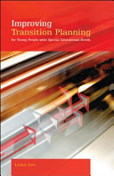 Improving Transition Planning For Young People With Special Educational Needs