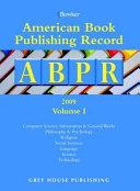 American Book Publishing Record Annual Cumulative  2009