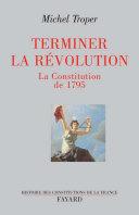 Pdf Terminer la Révolution Telecharger