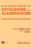 Pdf Manheimer's Cataloging and Classification, Fourth Edition, Revised and Expanded Telecharger