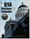 California Election Calendar