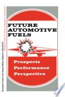 Future Automotive Fuels Book PDF