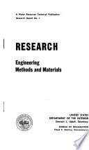 A Water Resources Technical Publication