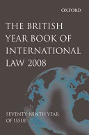 British Year Book of International Law 2008