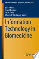Information Technology in Biomedicine Book