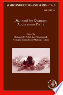 Diamond for Quantum Applications Part 2