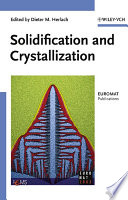 Solidification And Crystallization Book PDF