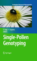 Pdf Single-Pollen Genotyping Telecharger