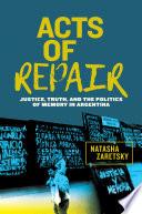 Acts of Repair