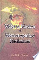 """""""Materia Medica of Homoeopathic Medicines"""" by S. R. Phatak"""