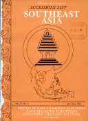 Accessions List  Southeast Asia