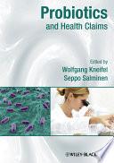 Probiotics And Health Claims Book PDF