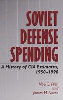 Soviet Defense Spending [Pdf/ePub] eBook