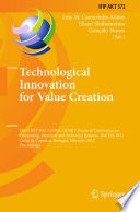 Technological Innovation for Value Creation