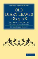 Old Diary Leaves 1875 8
