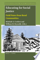 Educating for Social Justice Book