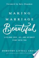 Making Marriage Beautiful Book