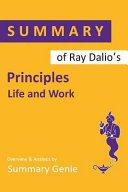 Summary of Ray Dalio s Principles