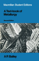 Textbook of Metallurgy