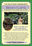 Pdf The Southern Gardener's Book Of Lists