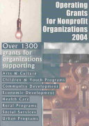 Operating Grants for Nonprofit Organizations 2004