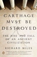 Carthage Must Be Destroyed Book